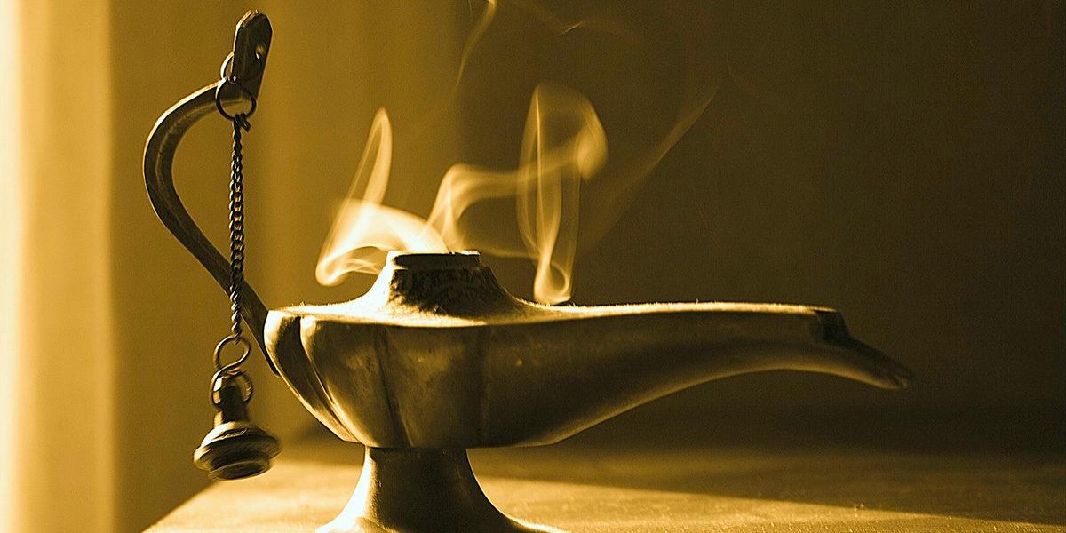 Aladin und Der Heilige Geist. Ein Pfingstaufsatz für Frau Merkel